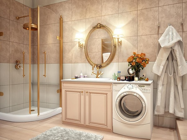 Bathroom-with-Gold-Detailing