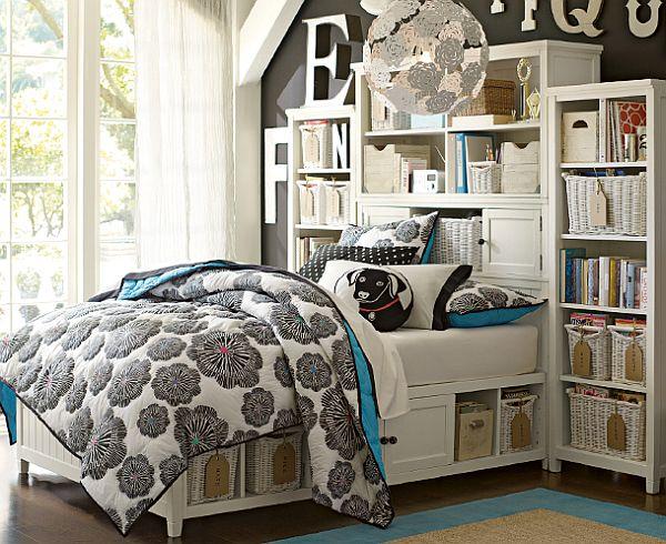 bloom beadboard teenage girls bedroom interior design ideas