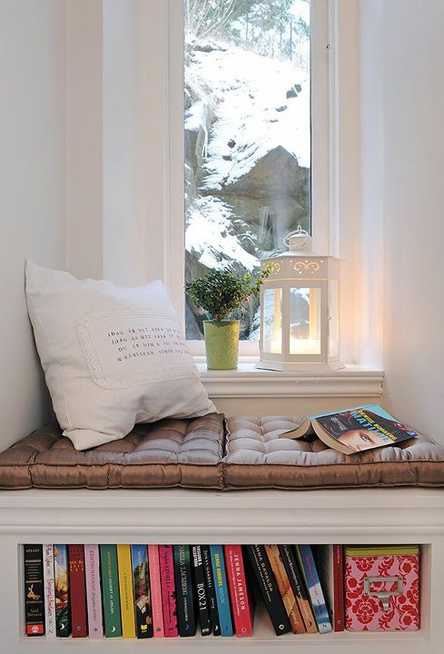 Window seat bench interior design ideas Window seat reading nook